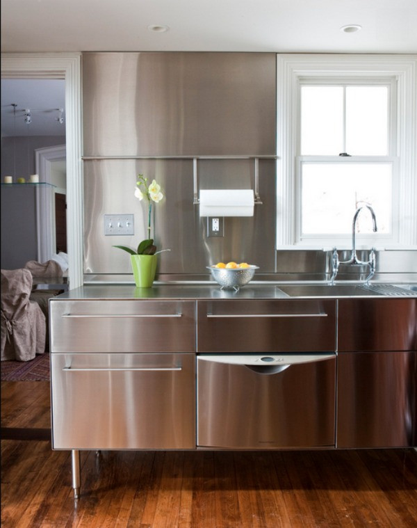 Best ideas about Stainless Steel Kitchen Decor . Save or Pin Stainless Steel Kitchens Ideas Inspiration Now.