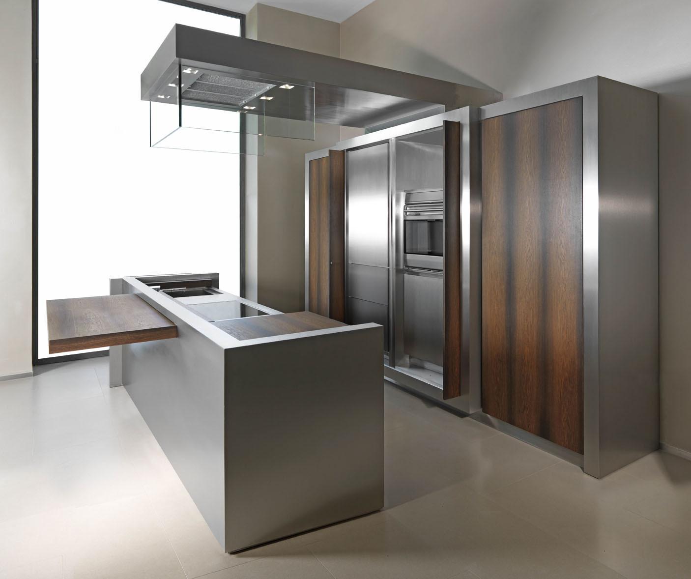 Best ideas about Stainless Steel Kitchen Decor . Save or Pin 7 Stainless Steel Kitchen Cabinets with Modern Look Now.