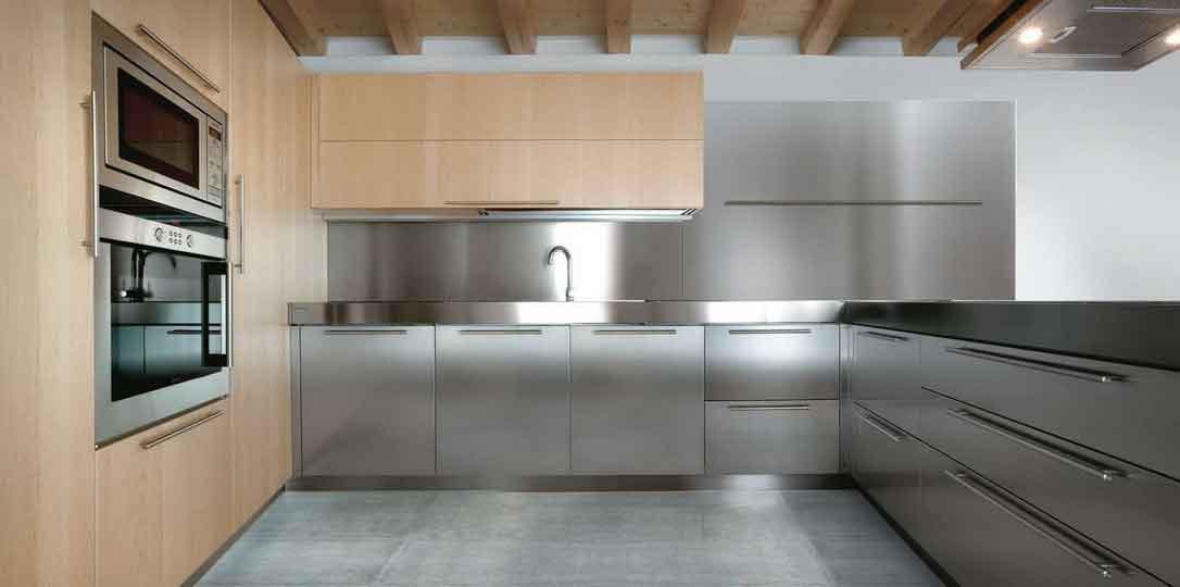 Best ideas about Stainless Steel Kitchen Decor . Save or Pin Stainless Steel Kitchen Cabinets Now.