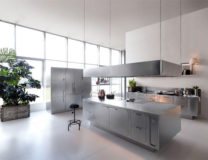 Best ideas about Stainless Steel Kitchen Decor . Save or Pin Stainless Steel Kitchen Design by Abimis InteriorZine Now.