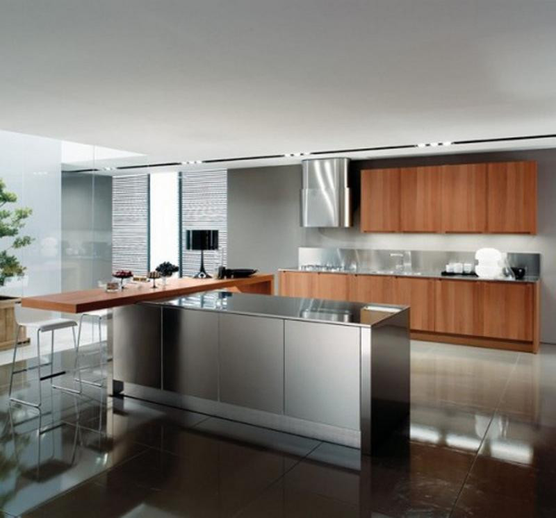 Best ideas about Stainless Steel Kitchen Decor . Save or Pin 15 Contemporary Kitchen Designs with Stainless Steel Now.