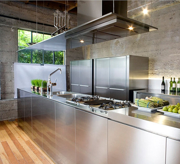 Best ideas about Stainless Steel Kitchen Decor . Save or Pin The Shiny Kitchen Metal Decor for Your Culinary Space Now.