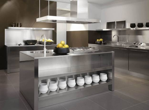 Best ideas about Stainless Steel Kitchen Decor . Save or Pin 25 Fresh Stainless Steel Ideas For Your Kitchen Now.