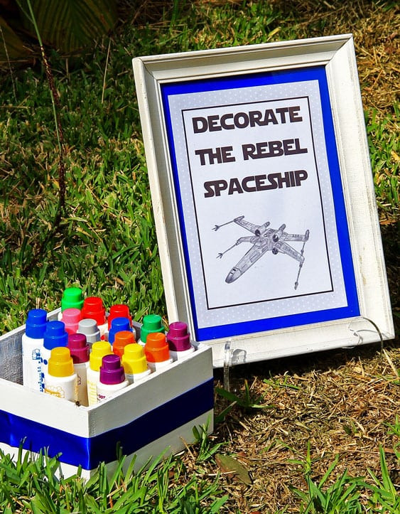Star War Birthday Party Games  A Boy's Star Wars Birthday Party Spaceships and Laser Beams