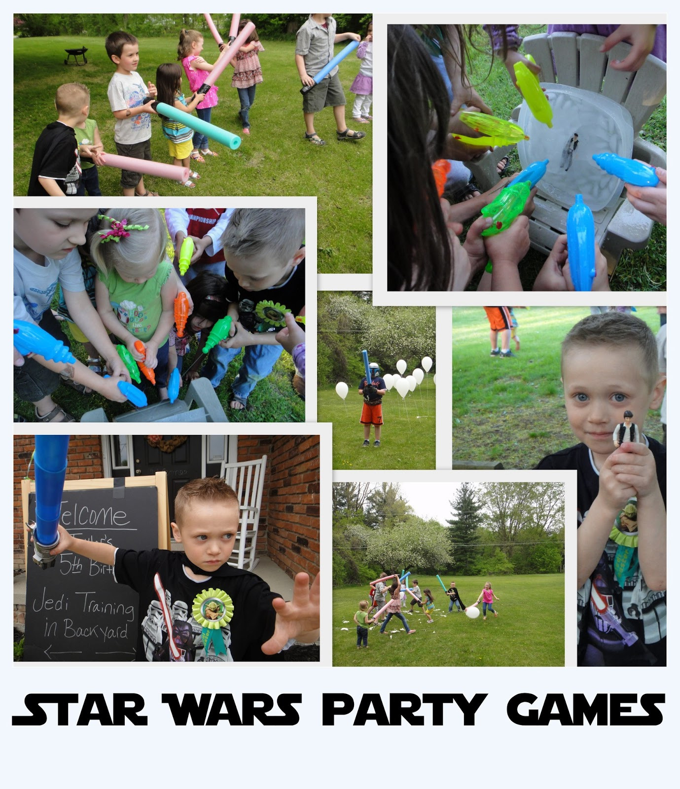 Star War Birthday Party Games  atwp Star Wars Themed Party Games