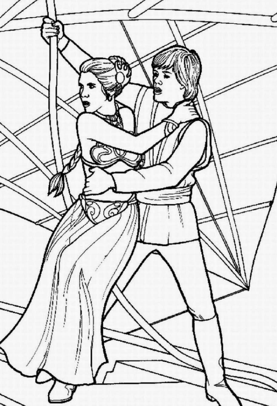 Star Wars Coloring Pages Printable  Coloring Pages Star Wars Free Printable Coloring Pages