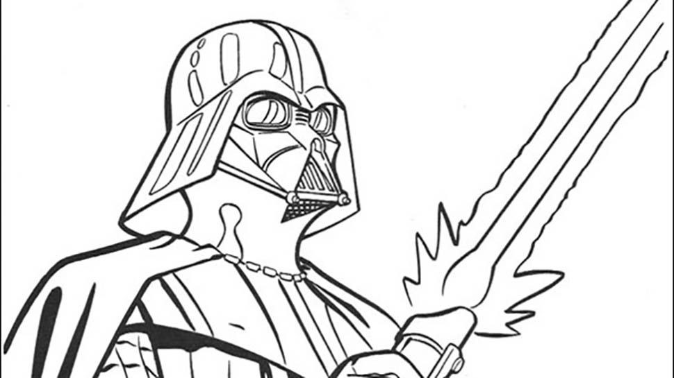 Star Wars Printable Coloring Pages Kids And Adults  Star Wars Free Printable Coloring Pages Coloring Home
