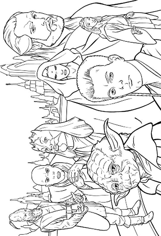 Star Wars Printable Coloring Pages Kids And Adults  Star Wars 999 Coloring Pages make draw