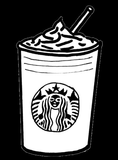 Starbucks Coloring Pages  Starbucks Logo Coloring Page Sketch Coloring Page