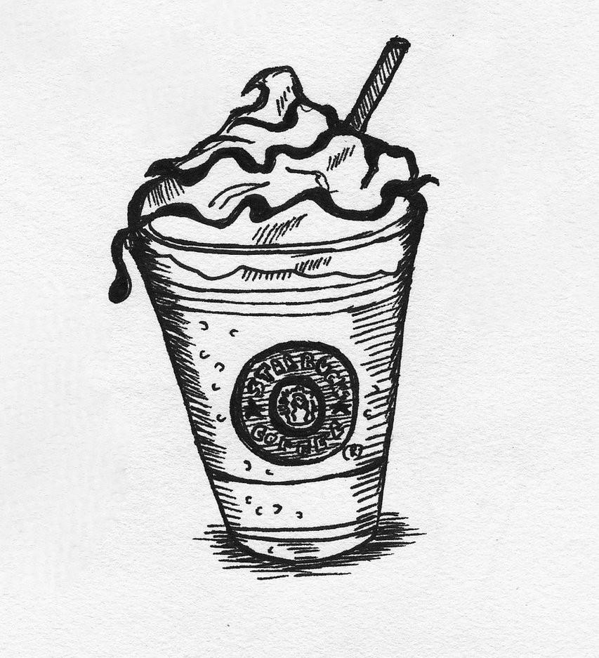 Starbucks Coloring Pages  Starbucks mmm by JadedDreams1 on DeviantArt