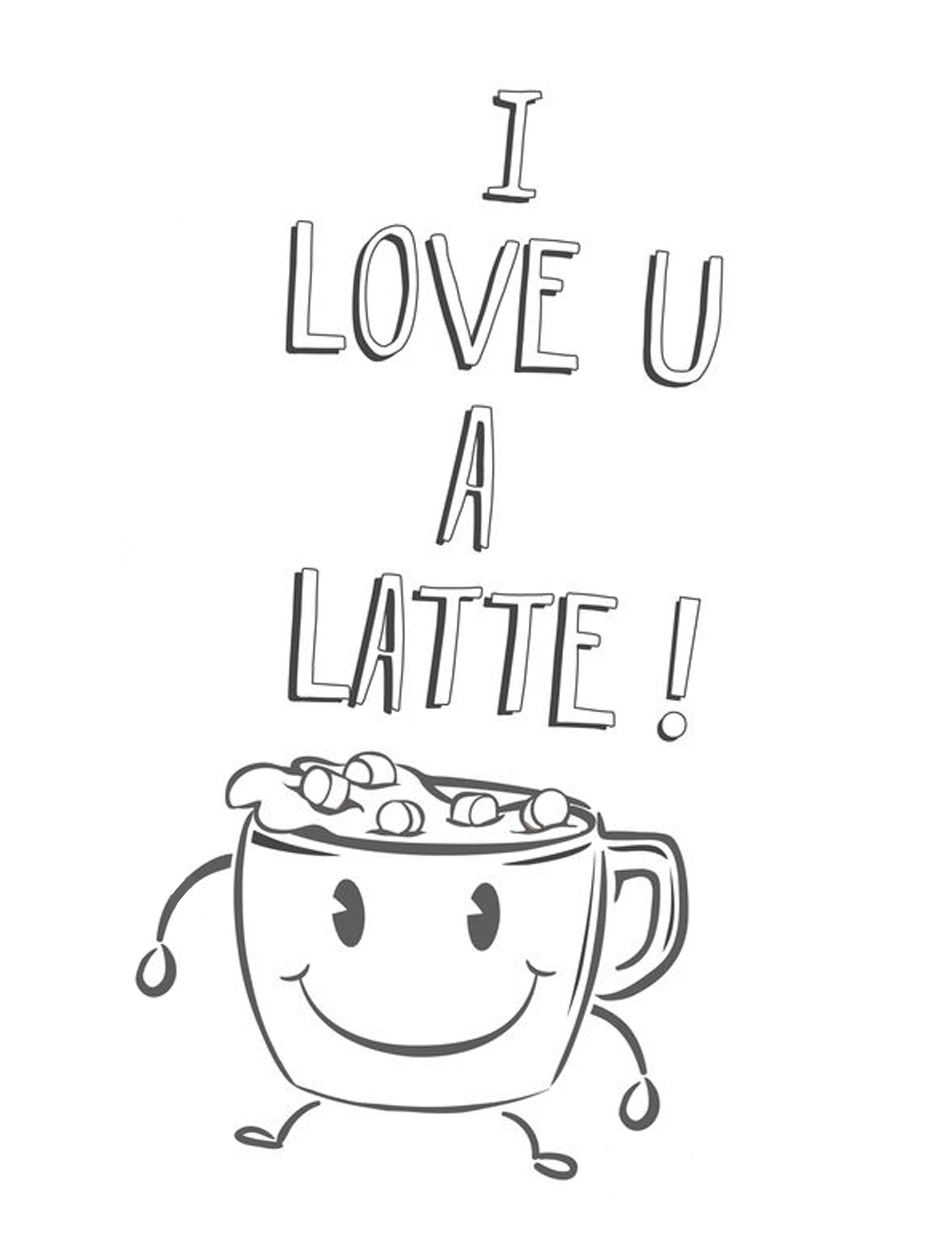 Starbucks Coloring Pages  Reliable Starbucks Coloring Page Cup Drawing At
