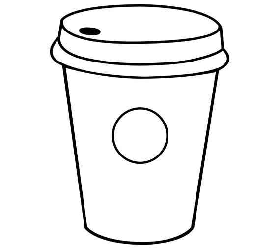 Starbucks Coloring Pages  24 Starbucks Coloring Page Printable