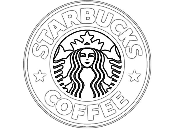 Starbucks Coloring Sheets For Girls  starbucks coffe Colouring Pages