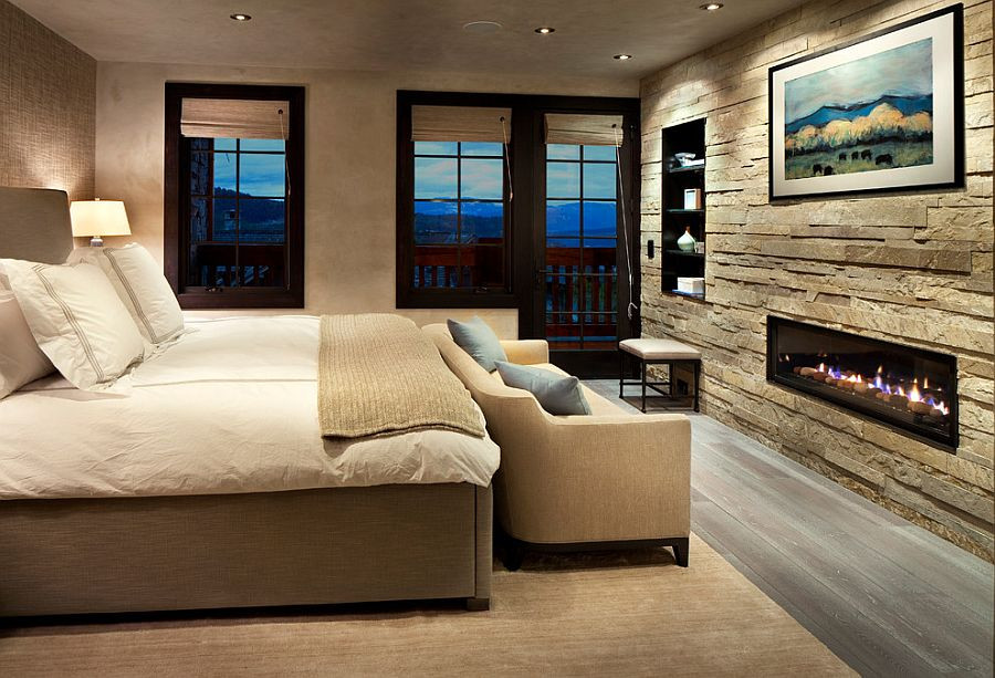 Best ideas about Stone Accent Wall . Save or Pin 25 Bedrooms that Celebrate the Textural Brilliance of Now.