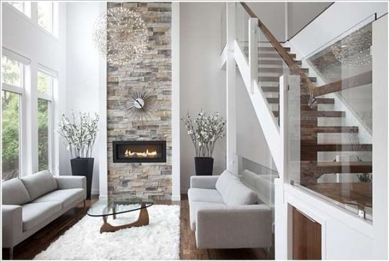 Best ideas about Stone Accent Wall . Save or Pin 33 Stunning Accent Wall Ideas For Living Room Now.