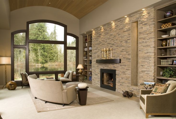 Best ideas about Stone Accent Wall . Save or Pin Eldorado Stone Accent Wall Alderwood Stacked Stone Now.