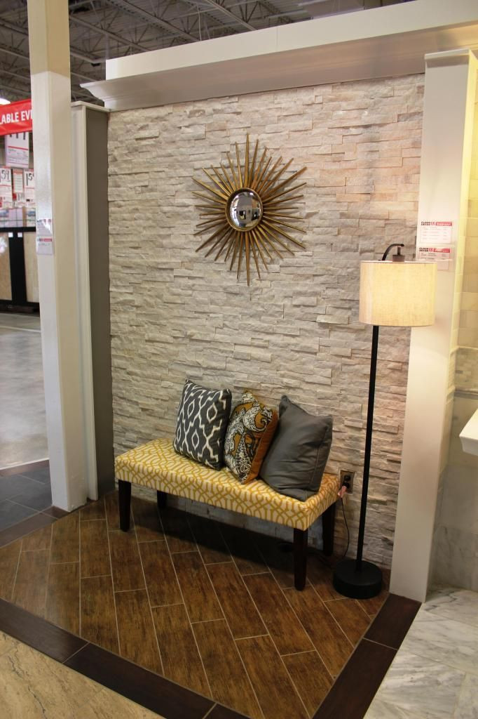Best ideas about Stone Accent Wall . Save or Pin Interior Stone Veneer Panels Buy Heritage Lakepointe Now.