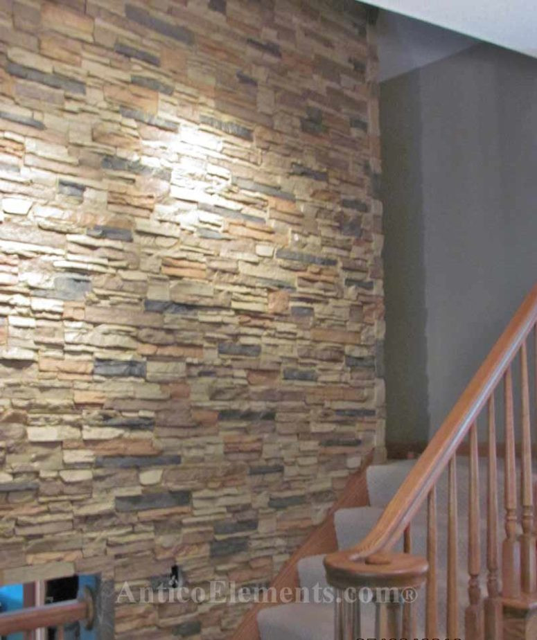Best ideas about Stone Accent Wall . Save or Pin 7 Chic DIY Stone And Faux Stone Accent Walls Shelterness Now.