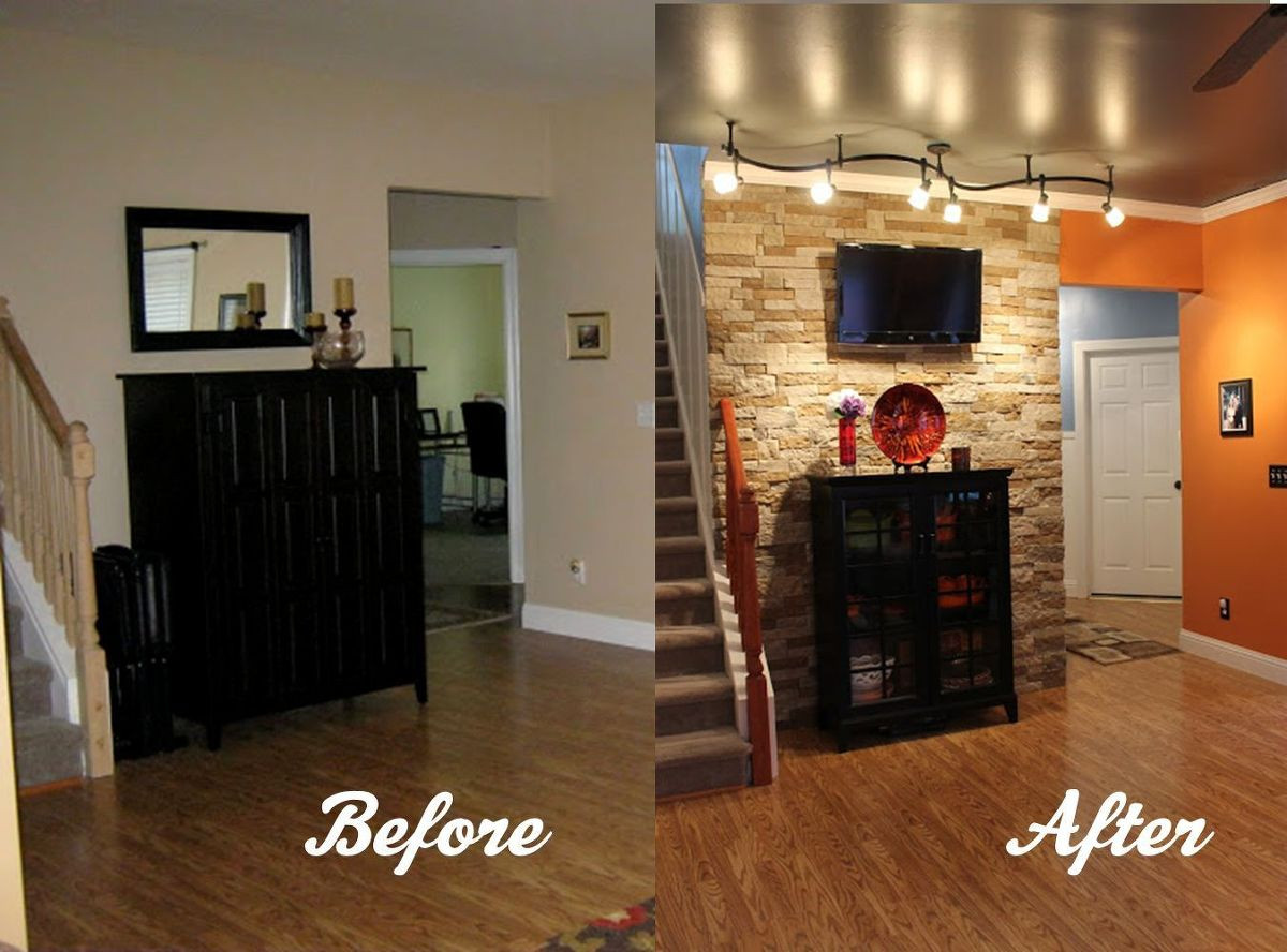 Best ideas about Stone Accent Wall . Save or Pin Hometalk Now.