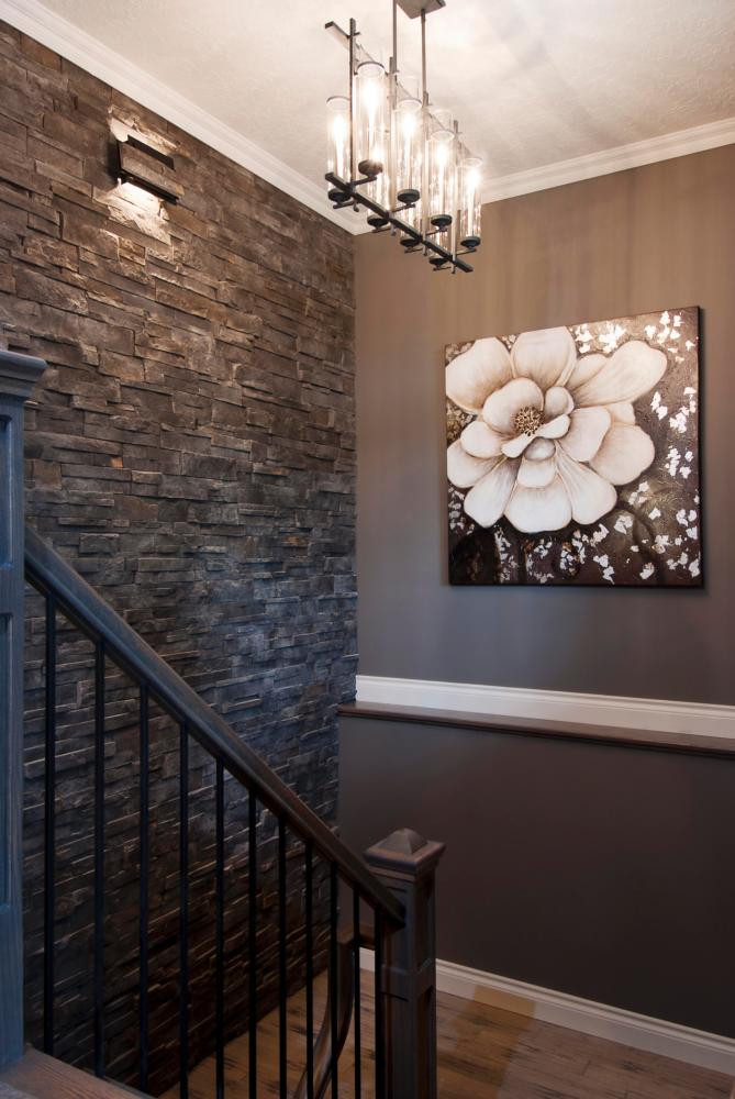 Best ideas about Stone Accent Wall . Save or Pin 10 Inspirational DIY Accent Walls Modish Home Accents Now.