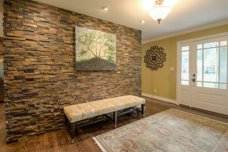 Best ideas about Stone Accent Wall . Save or Pin 25 Amazing Stone Accent Walls Now.