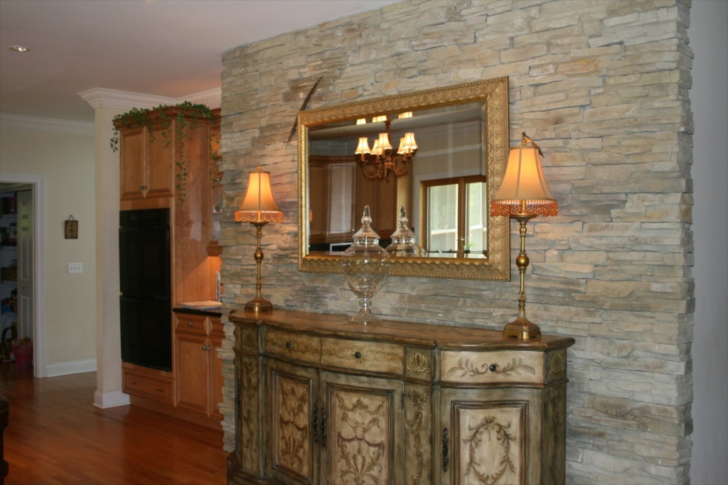 Best ideas about Stone Accent Wall . Save or Pin 5 Ways to Beautify Your Kitchen With Stone North Star Stone Now.