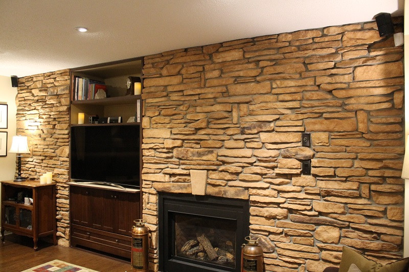 Best ideas about Stone Accent Wall . Save or Pin Cultured Stone Accent Wall The Cultured Stoners Now.
