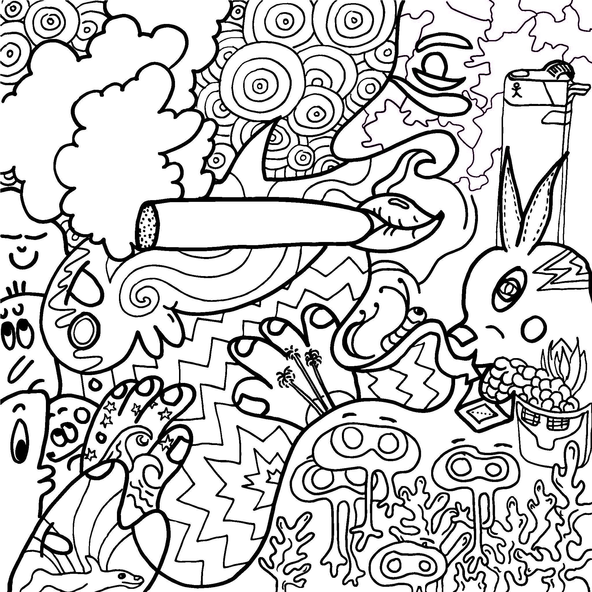 Stoner Coloring Pages  Stoner Coloring Pages Coloring Pages