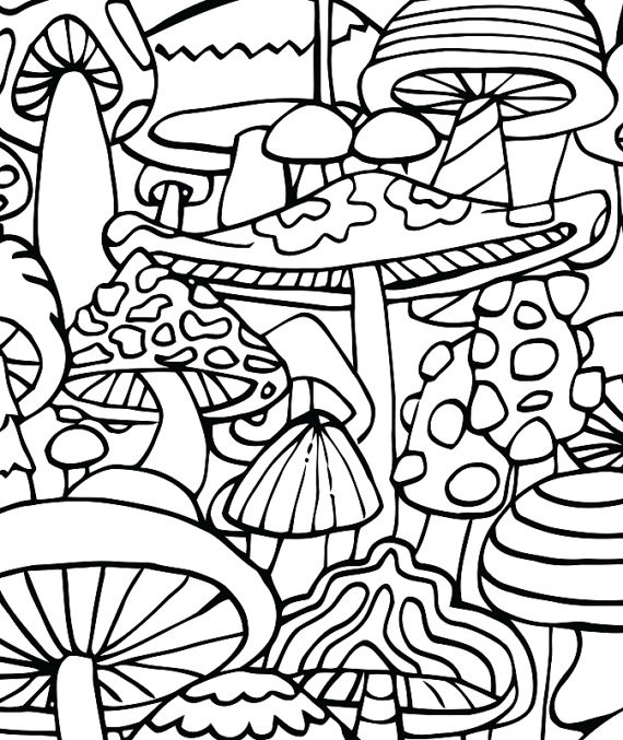 Stoner Coloring Pages  Trippy Stoner To Draw impremedia