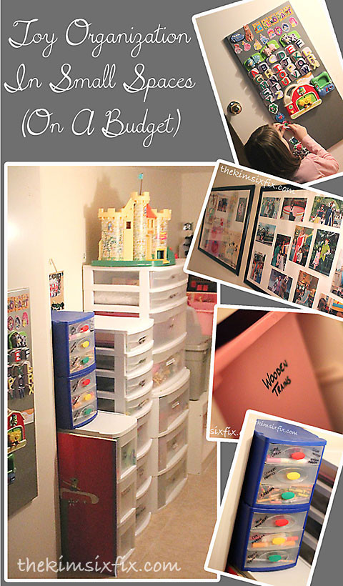 Best ideas about Storage Ideas For Small Spaces On A Budget . Save or Pin Kids Toys and Playroom Organization The Crafting Chicks Now.