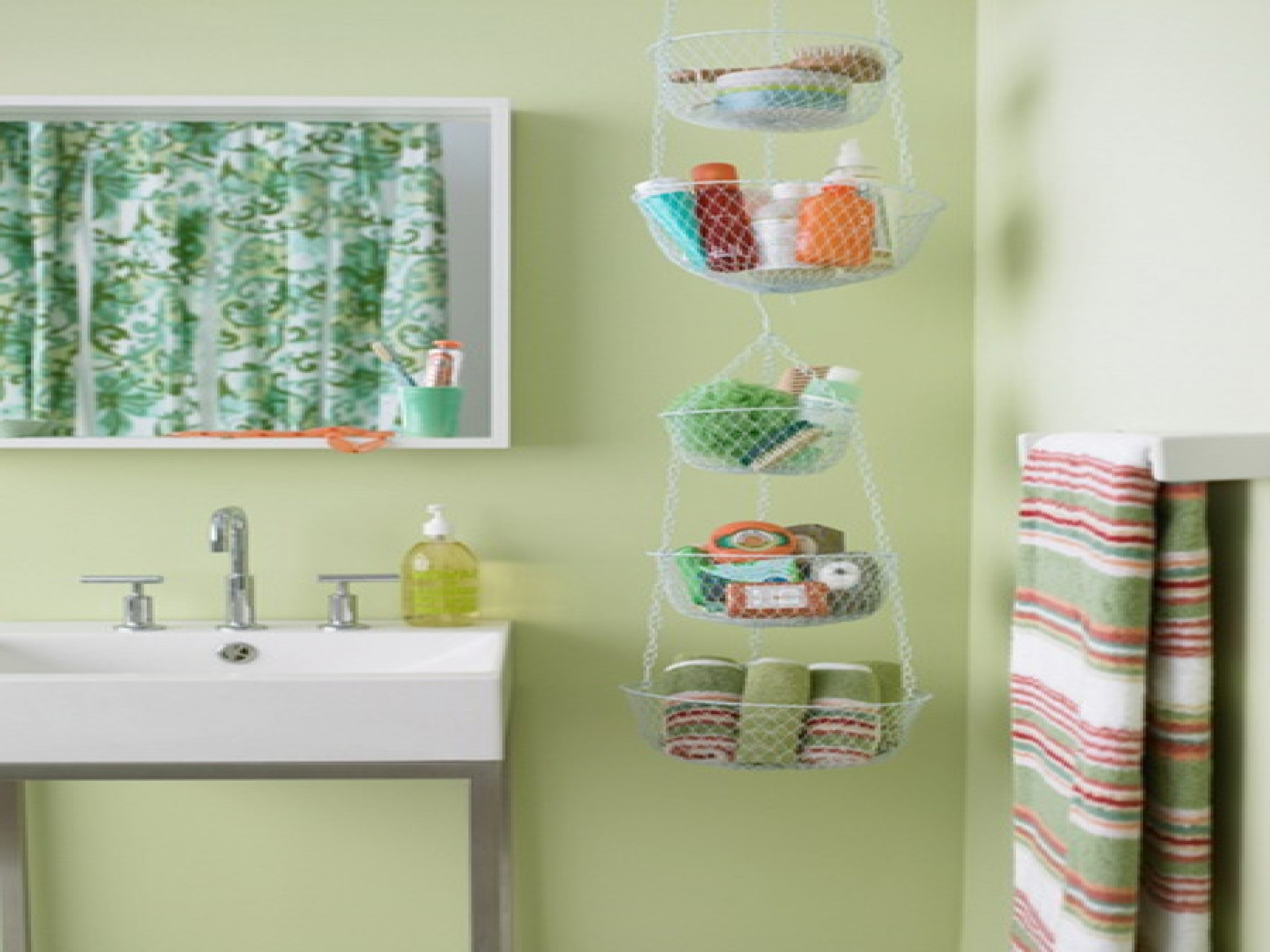 Best ideas about Storage Ideas For Small Spaces On A Budget . Save or Pin Bathroom Small Storage Ideas A Bud Home Best Cheap Now.