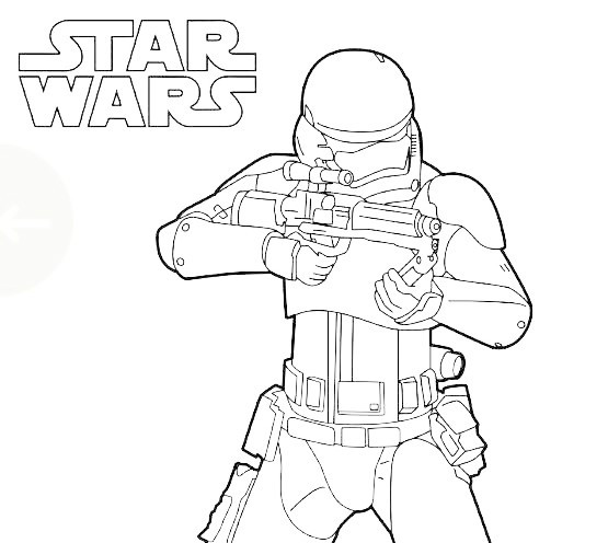 Storm Trooper Coloring Pages  Star Wars Coloring Pages coloringcks