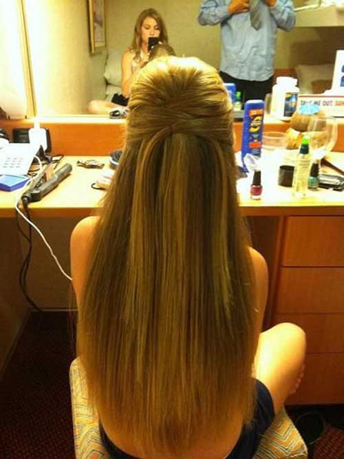 Straight Prom Hairstyles  10 Straight Formal Hairstyles