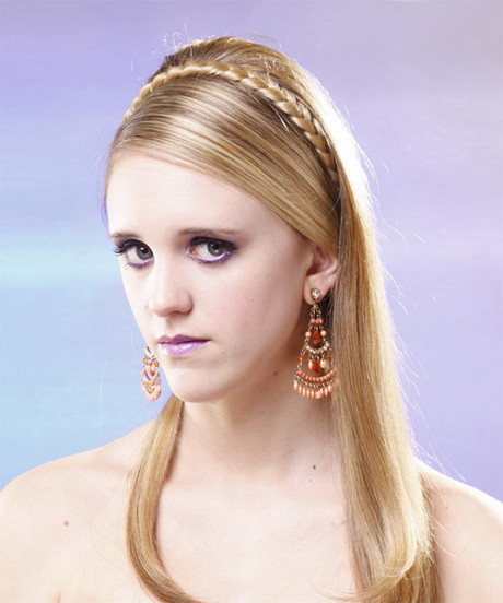 Straight Prom Hairstyles  Formal hairstyles for long straight hair