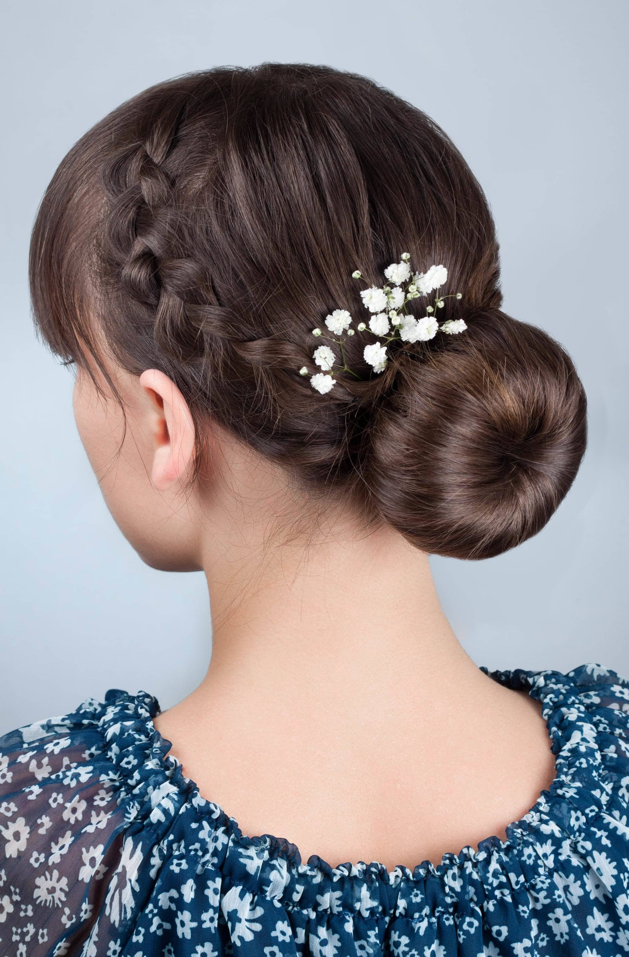 Straight Wedding Hairstyle  Straight Hair Ideas For Weddings 4 Chic Looks To Wear