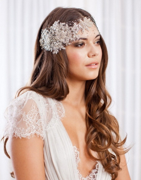Straight Wedding Hairstyle  Wedding hairstyles for long straight hair