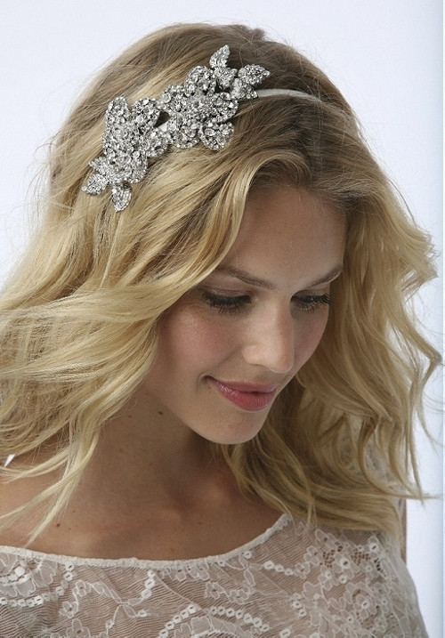 Straight Wedding Hairstyle  35 Beautiful Wedding Hairstyles For Long Hair