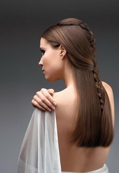 Straight Wedding Hairstyle  Straight wedding hair