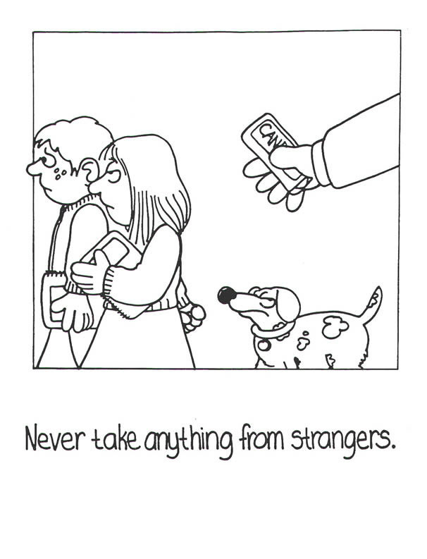 Best ideas about Stranger Danger Printable Coloring Pages . Save or Pin Printable Coloring Page Stranger Safety Coloring Sheets Now.