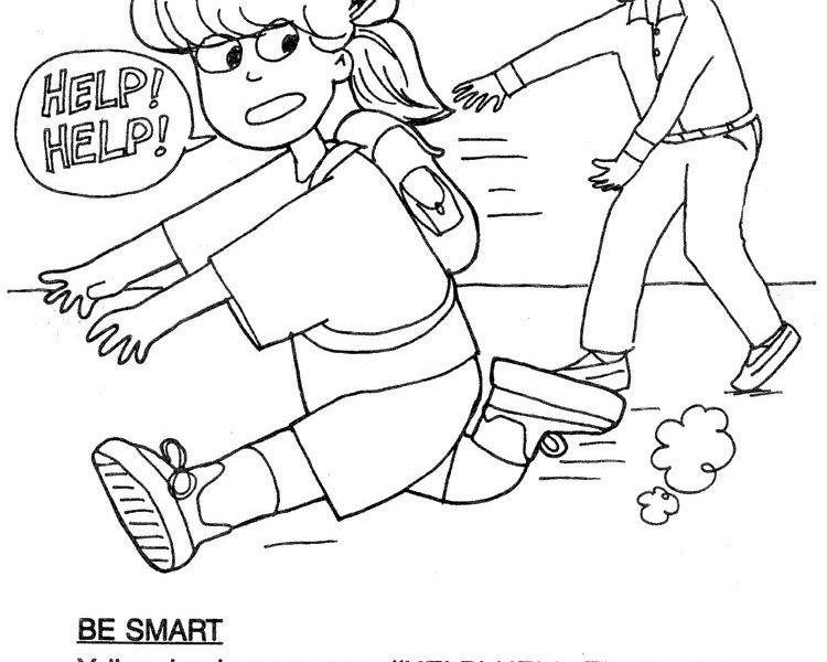 Best ideas about Stranger Danger Printable Coloring Pages . Save or Pin Stranger Danger Coloring Pages Coloring Home Now.