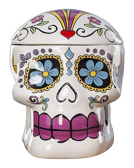 Best ideas about Sugar Skull Kitchen Decor . Save or Pin Sugar Skull Cookie Jar Spirithalloween Now.