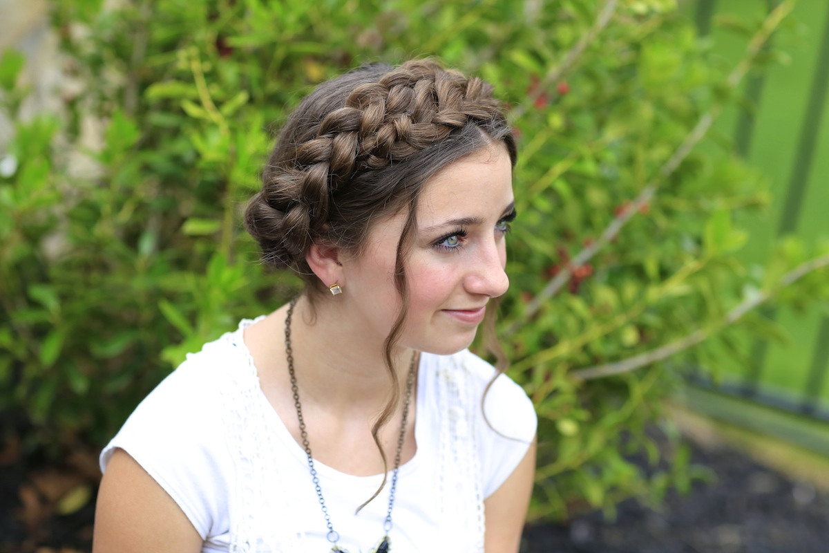 Best ideas about Summer Braids Hairstyles . Save or Pin Milkmaid Braid Cute Summer Hairstyles Now.