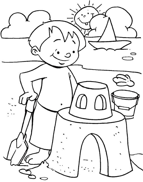 Summer Coloring Sheet  Summer Coloring Pages 2019 Dr Odd