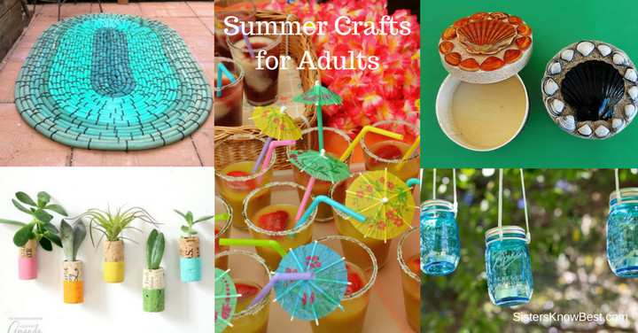 Best ideas about Summer Crafts Adults . Save or Pin Summer Crafts for Adults Now.