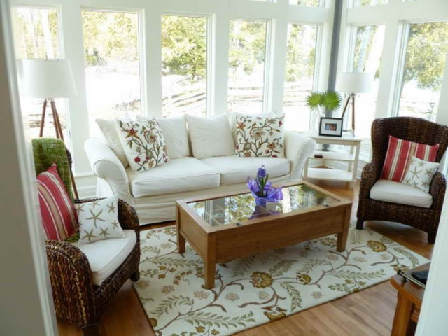 Best ideas about Sun Room Furniture Ideas . Save or Pin Small sunroom Furniture Ideas Now.
