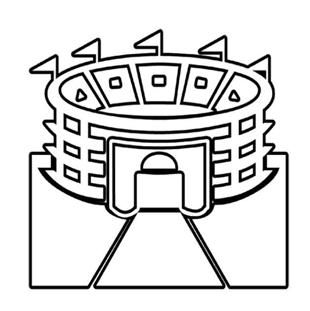 Super Bowl Coloring Pages For Kids  Pin by Finley Kimmie on Kids Coloring Pages