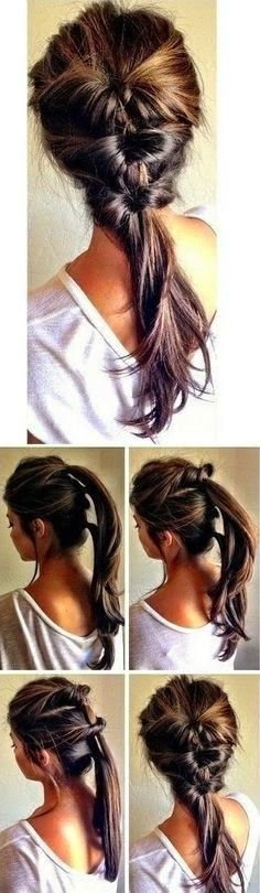 Super Cute And Easy Hairstyles  15 Super Easy Hairstyles With Tutorials Pretty Designs