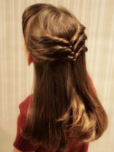 Super Cute And Easy Hairstyles  Super cute hairstyles for long hair