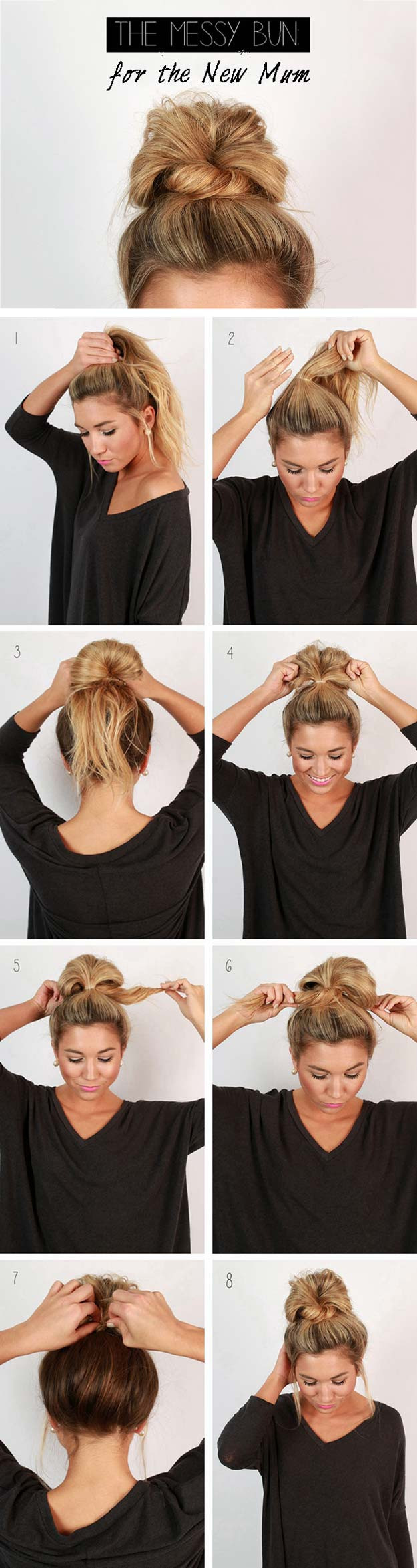Super Cute And Easy Hairstyles  12 Cute and Easy Hairstyles that Can Be Done in a Few