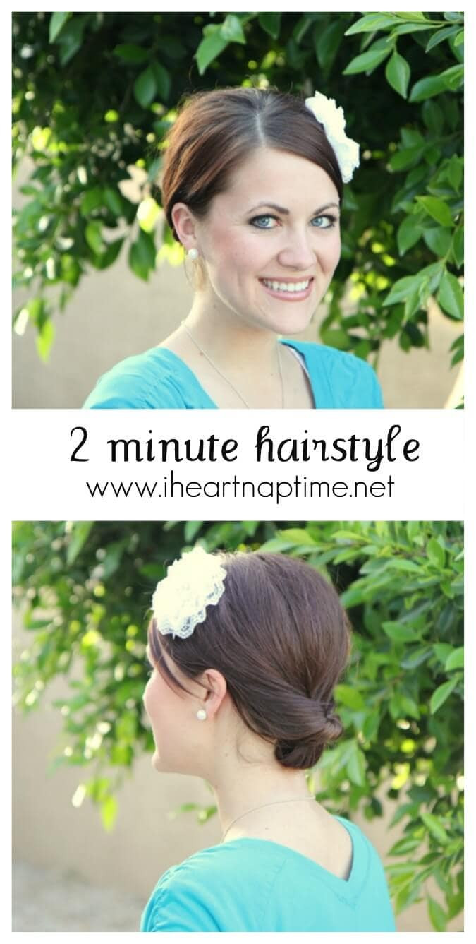 Super Cute And Easy Hairstyles  Super cute and easy hairstyle I Heart Nap Time